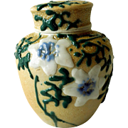 Meiji Period Banko Porcelain Tea Caddy