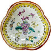19th Century Chinese Pedestal Serving Dish