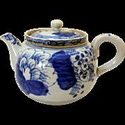 19th Century Blue & White Japanese Teapot