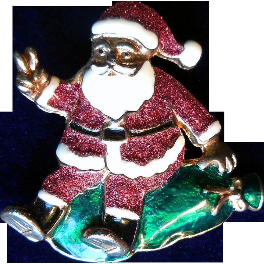Vintage Santa Pin 51