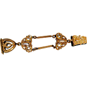 Edwardian Gold-Filled Watch Fob