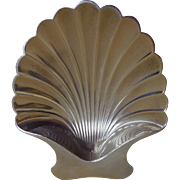 Vintage Sterling Silver Tiffany & Co. Shell Dish