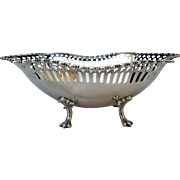 Antique Sterling Silver Footed Bowl, Lebkeucher & Co.