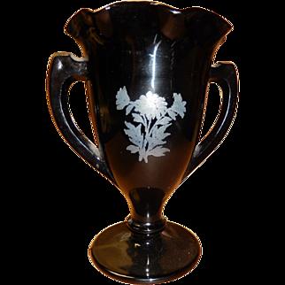 Black Amethyst Vase