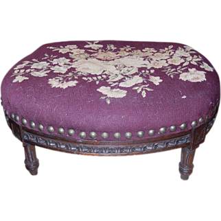 Foot Stool, Ladies 19th Century