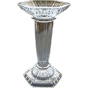 Waterford Irish Cut Crystal Single Tall Candlestick Marquis Pattern