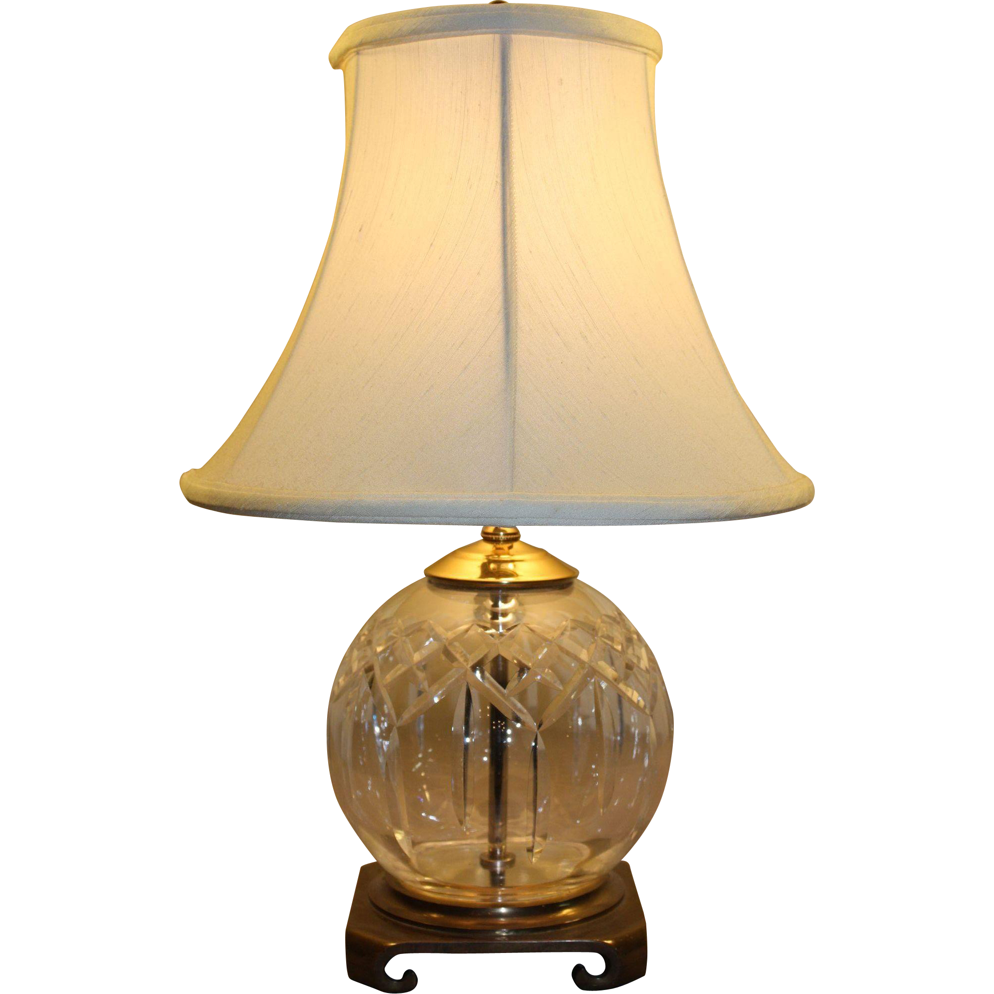 Waterford Crystal Lismore Table Lamp Sold On Ruby Lane