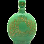 Perfume Bottle for Parfum pour Blondes by Lionceau, Paris France. ca. 1930