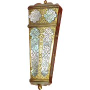 Incredibly Beautiful Mother of Pearl Shell Sewing Etui c 1730 About 286 Years Old! Ex Chatelaine