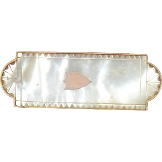 Palais Royal Mother Of Pearl shell Moustache (Mustache) Brush c1810