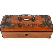 French Palais Royal Box from 1810-20 - Sewing,Jewelry or Treasure Box