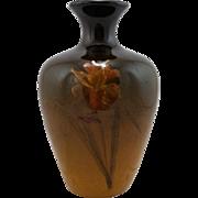 "Weller Louwelsa 6.5"" Vase By Amelia Sprague With A Carnation Standard Glaze Mint"
