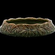 "Weller Woodcraft/Flemish 2.5"" x 9.5"" Leafy Center Console Bowl Mint"