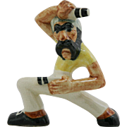 """Shearwater 6"""" Pirate Figural 'Two-Pistol Pete' 1930s A Walter Inglis Anderson Design"""