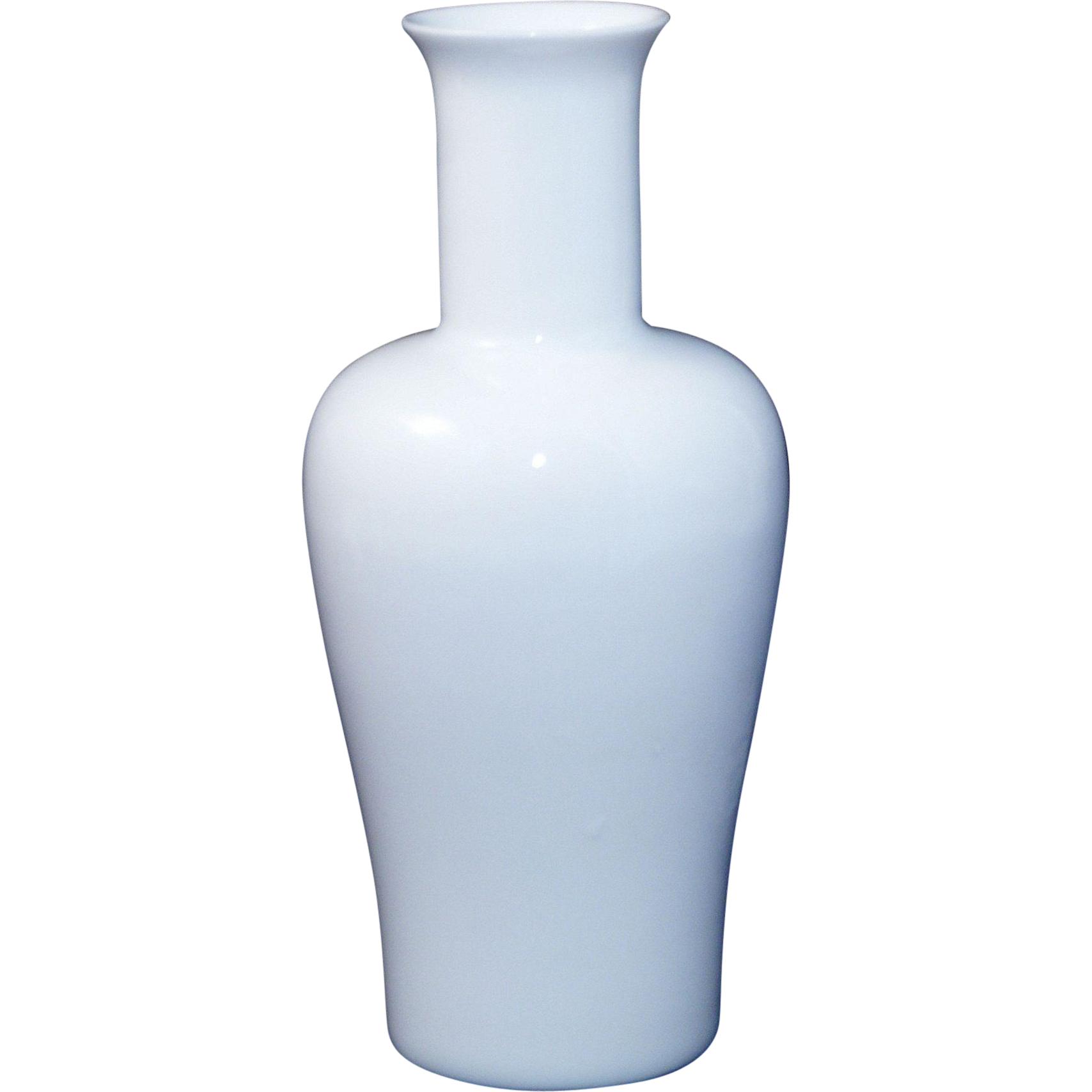 fantastic chinese middle kingdom porcelain blanc de chine vase by bo sold on ruby lane. Black Bedroom Furniture Sets. Home Design Ideas