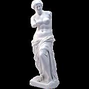 Large 19th century German Rudolstadt porcelain Bisque Parian figure