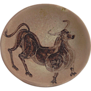 Harris Strong Bowl With Bull