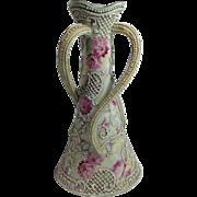 Vintage Moriage Japanese Vase