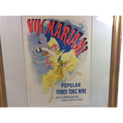 Vin Mariani by Jules Cheret Lithograph Poster