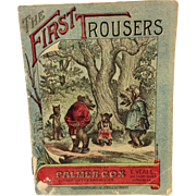 1897 The First Trousers:  Palmer Cox Illustrations