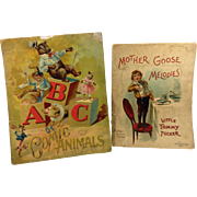 2 Early Children's Books by McLoughlin Bros