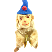 German Wind Up Monkey With Cymbals - Red Tag Sale Item