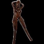 Figural Nutcracker Hand Carved
