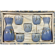 Porcelain Sake Serving Set Japan