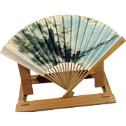 Hand Painted Bamboo Folding Fan People's Republic of China