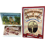 Circus Memorabilia / Postcards & Book
