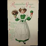 Remember Green Erin:  Unusual Wolf Logo