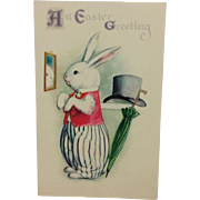Gentleman Rabbit Easter Greetings