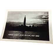 Photograph of NY Skyline / Empire State Building