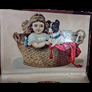 Victorian Album of Die Cut Mementos