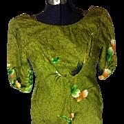 Hawaiian Reef Label Dress