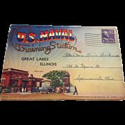 1943 Navy Great Lakes Training Station Photos