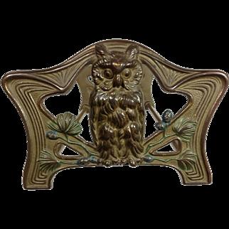 Art Nouveau / Owls Bookrack