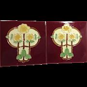 2 Art Nouveau Tiles
