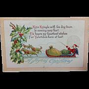 Santa's Dog Sled Delivery