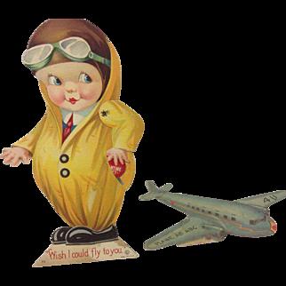 Pair Aviation Valentines