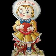 Mechanical, Googly-eyed Valentine