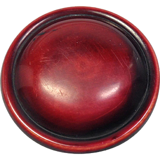 Beautiful Ruby Red Button
