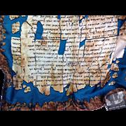 Silk Scarf: Dead Sea Scrolls