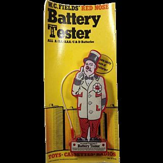 W C Fields Battery Tester