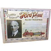 Ford Plant & Allied Industries: Postcard Folder