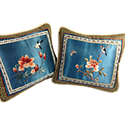 Exquisitely Embroidered Pillows