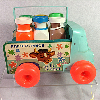 '65 Fisher Price Milk Wagon