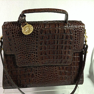 Brahmin Designer Leather Handbag