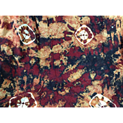 Tie Dyed Rayon Fabric