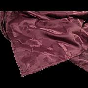 Burgundy Table Cloth